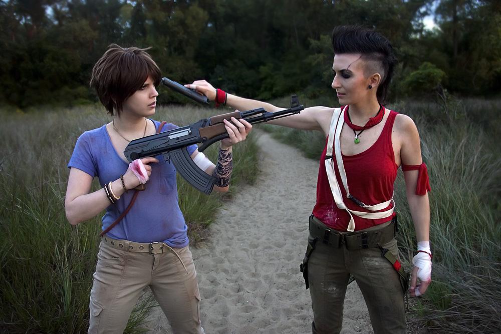 Far Cry 3 cosplay - mano a mano by LadyofRohan87