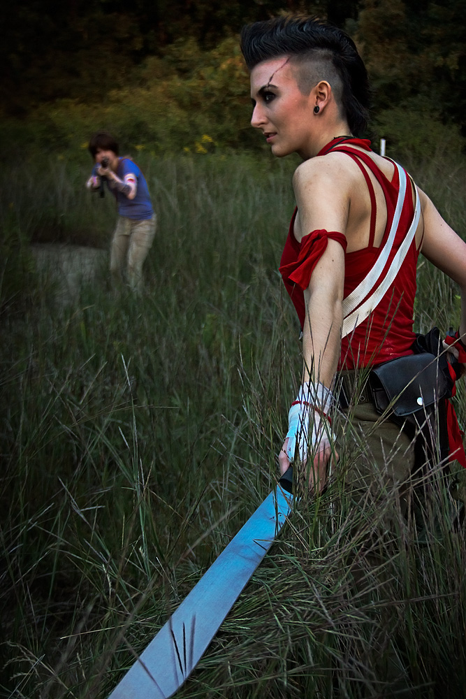 Far Cry 3 cosplay - dangerous game by LadyofRohan87