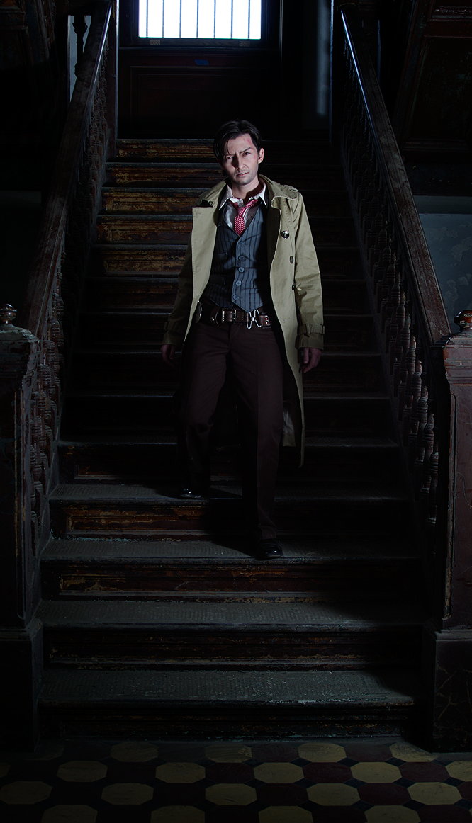 Sebastian Castellanos Cosplay The Evil Within by LadyofRohan87