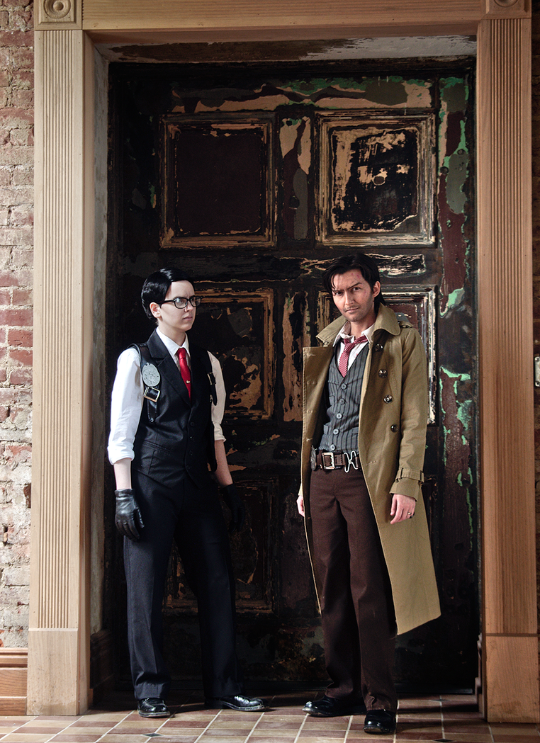 The Evil Within Cosplay - Castellanos and Oda by LadyofRohan87