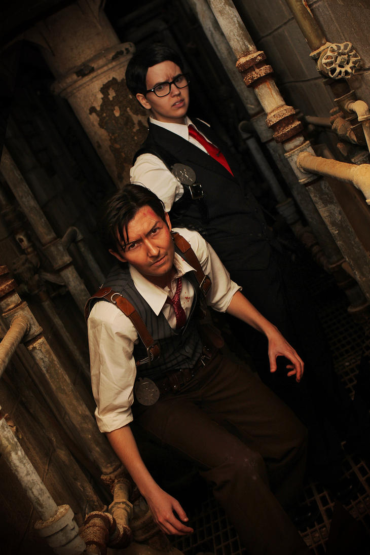 Joseph and Sebastian The Evil Within cosplay by LadyofRohan87
