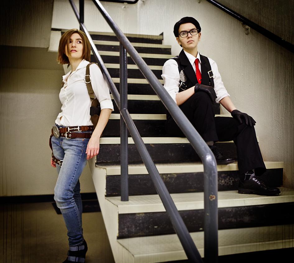 Detectives Oda and Kidman by LadyofRohan87