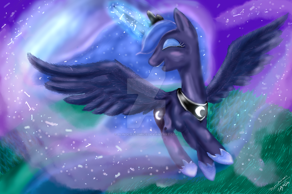Luna's Flight by BlindCatComics