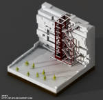 Game of Thrones : The Wall  -  Voxel