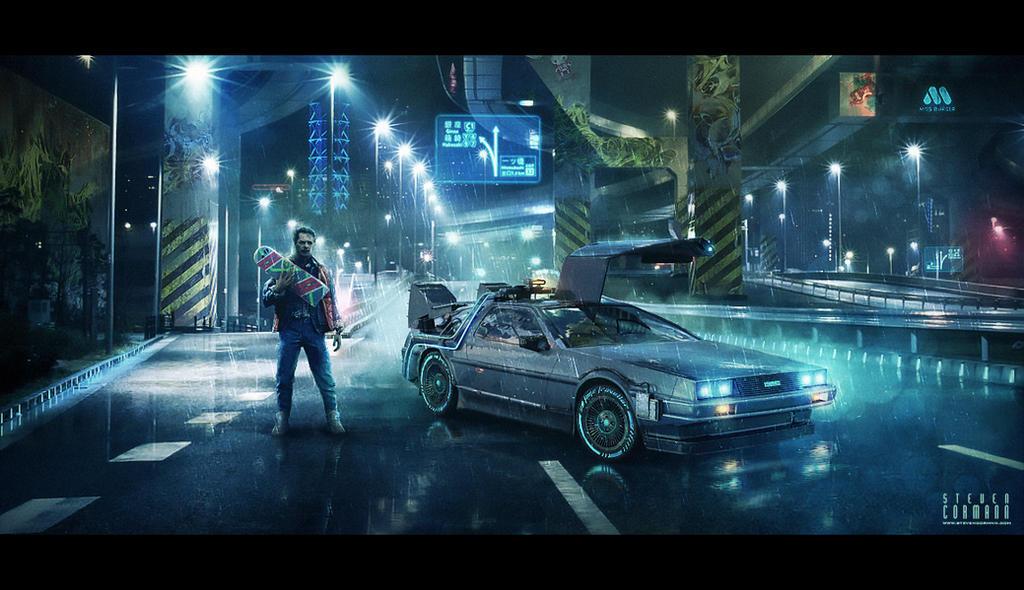 Back To The Future By StevenCormann On DeviantArt