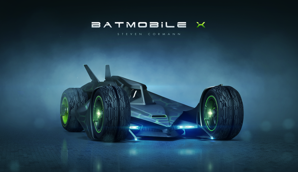 Batmobile X by StevenCormann