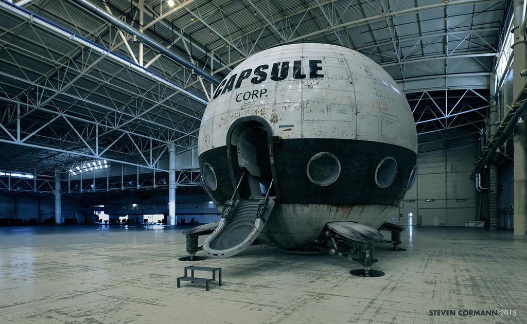 Capsule Corp by StevenCormann