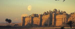 Desert City by StevenCormann