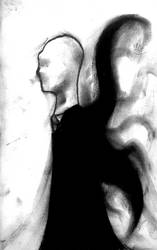 Slenderman in Charcoal