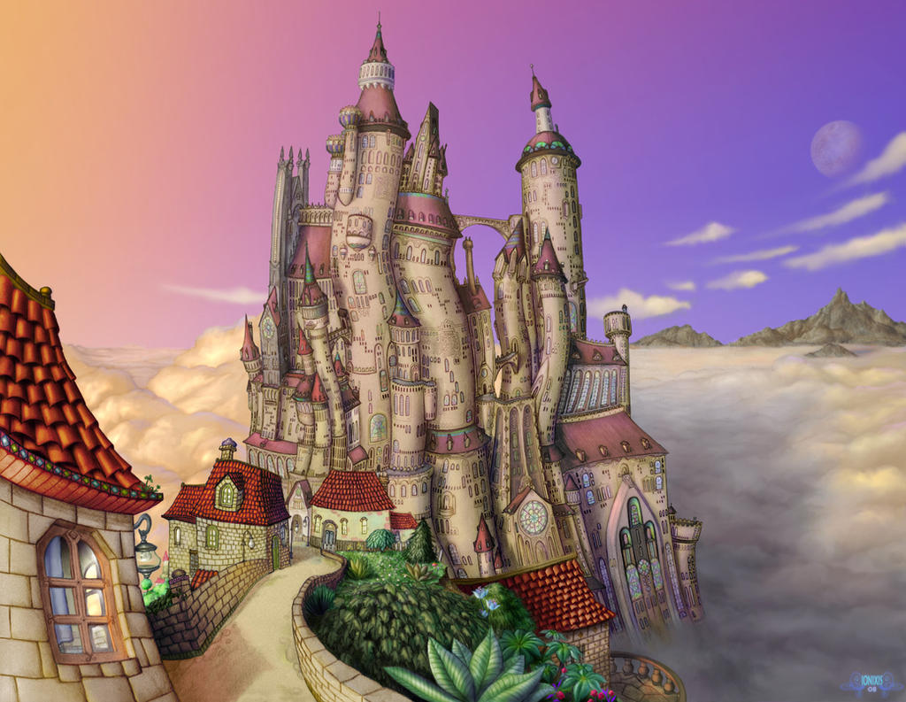 Twisted Castle - The frontier by Ionixis