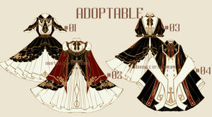 [open] Adoptable Red black