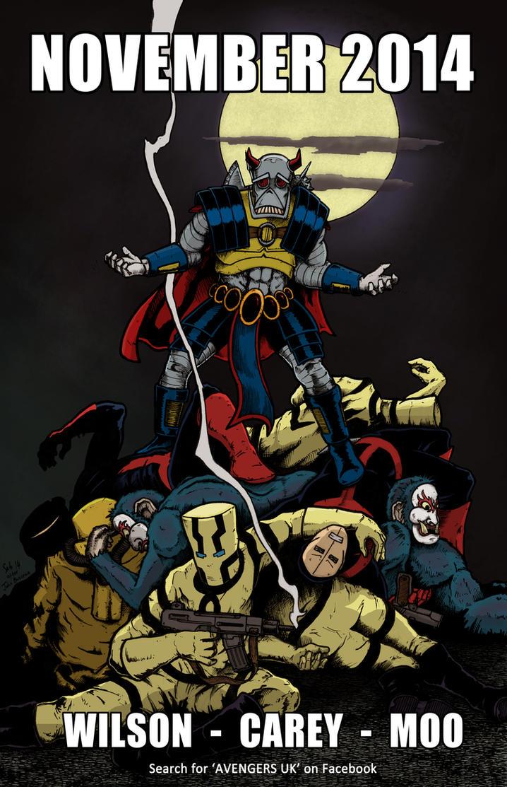 Avengers UK presents DEATHS HEAD by sebcarey