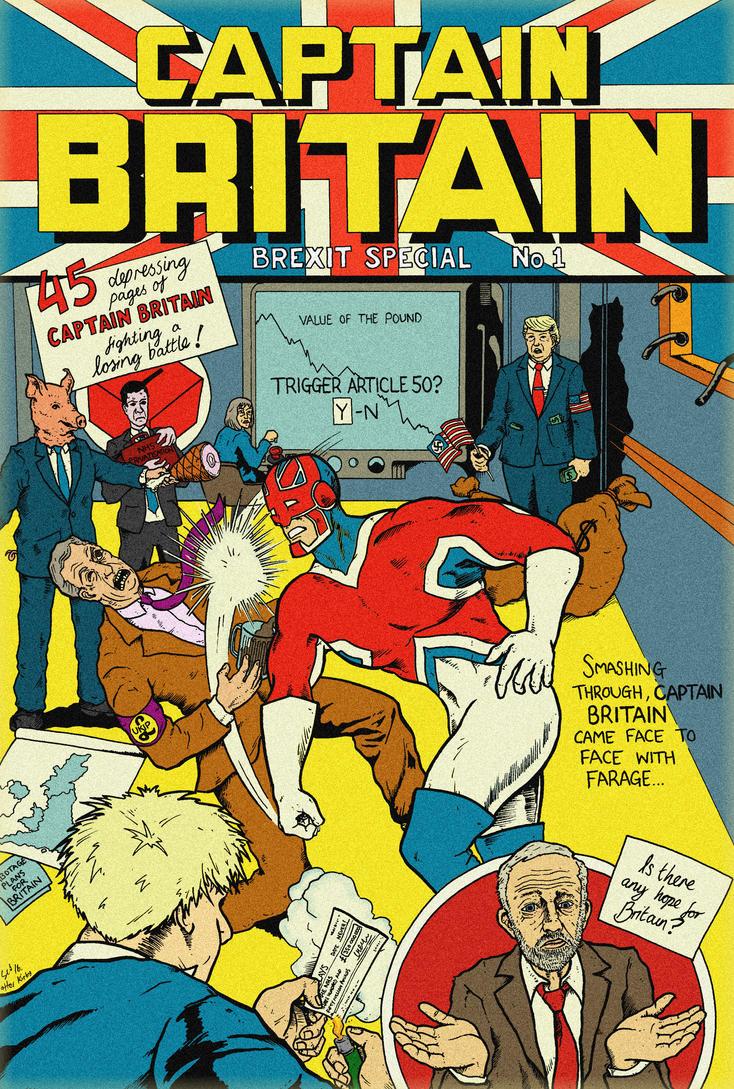 Captain Britain Brexit Special by sebcarey
