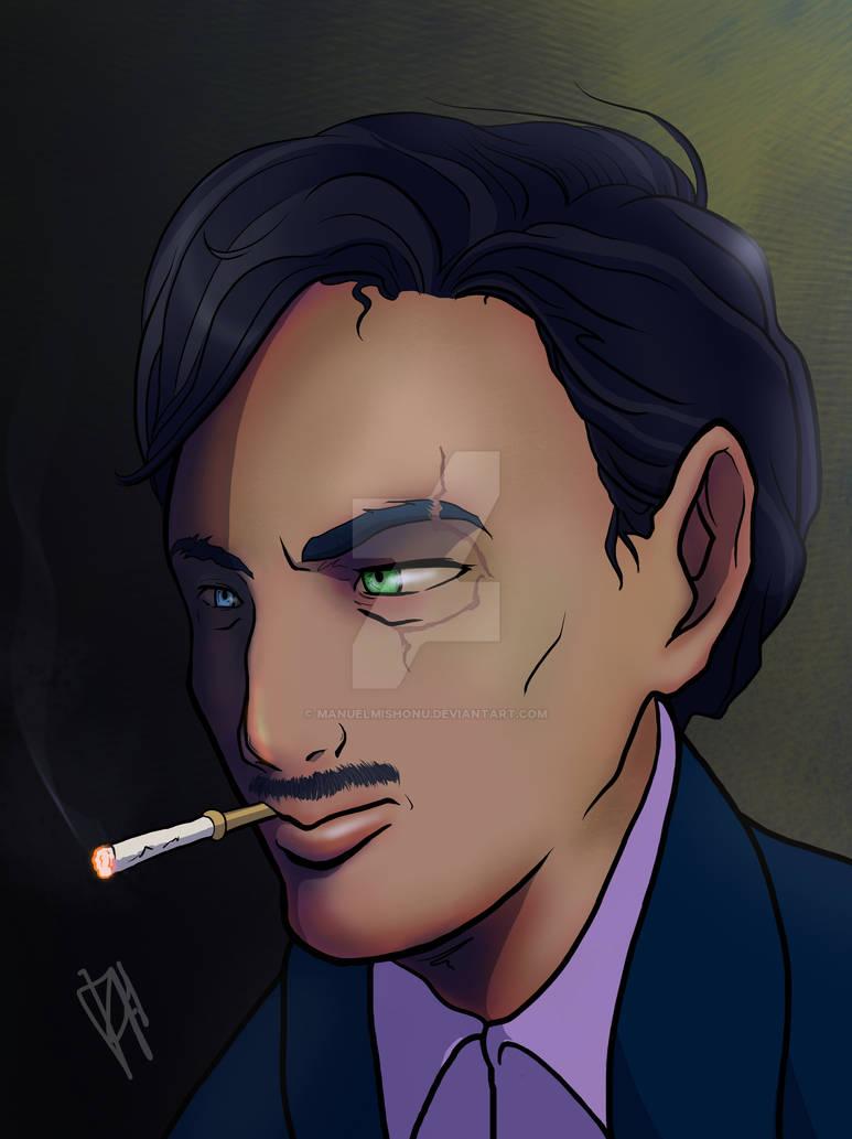 Iceman Machiavelli Portrait