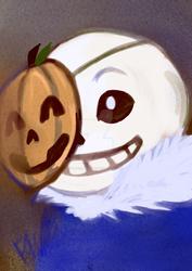 Sans Pumpkin Mask