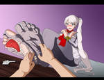 COMISSION: RBWY Playing With Weiss