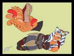 COMISSION: Ahsoka Tickling Worship