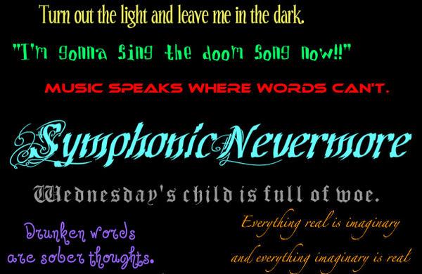 SymphonicNevermore's Profile Picture