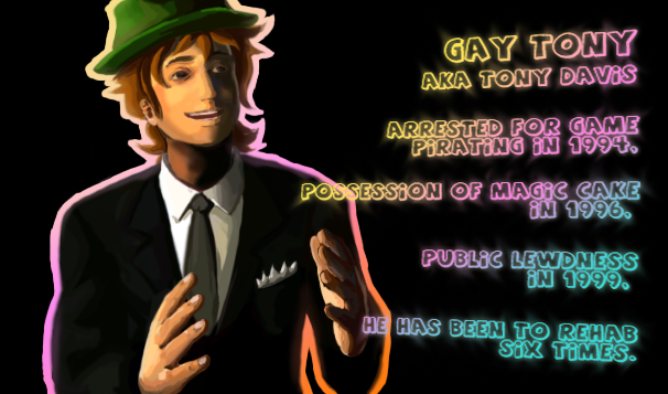 Gay Tony by KyoAkiyamako