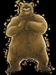 Mighty Bear by KyoAkiyamako