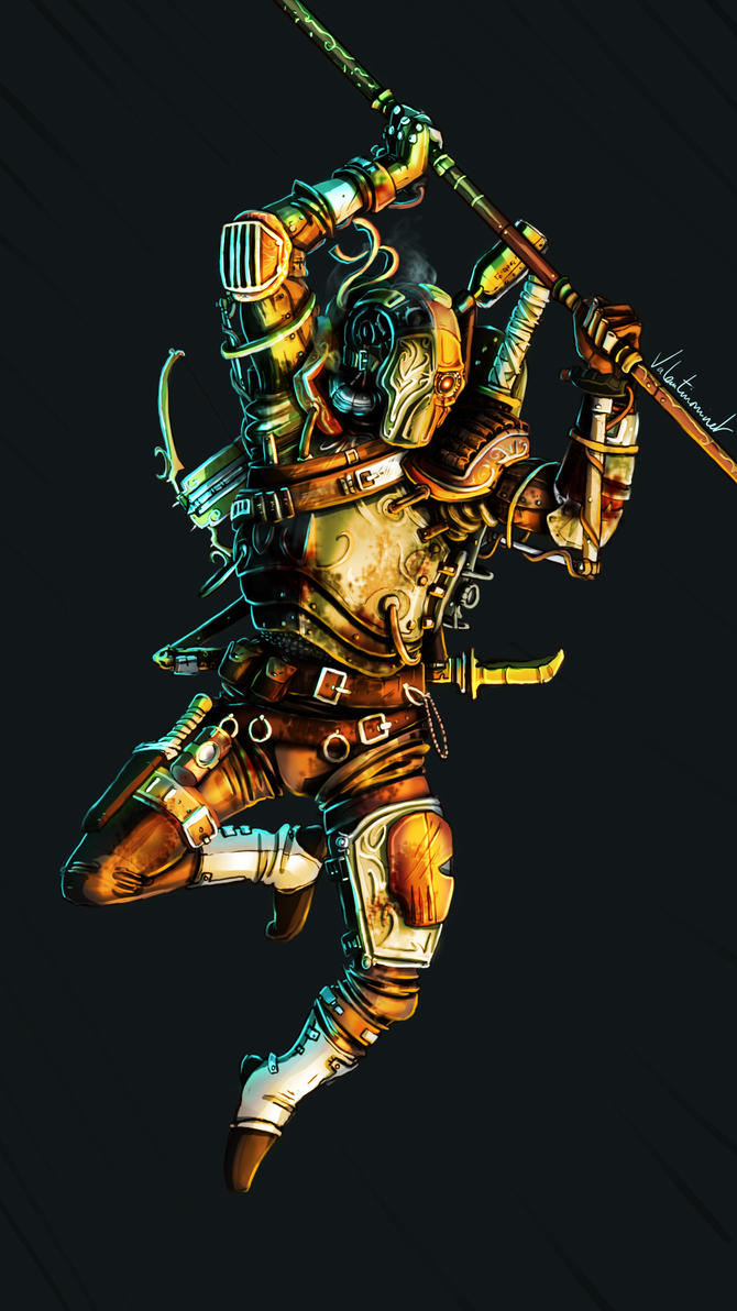 Je veux - Page 5 Steampunk_deathstroke_by_valentinou-d978tg4