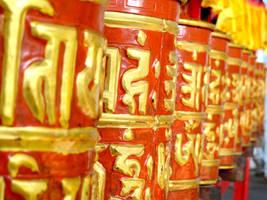 Still Buddhist wheels by RAWRshivi