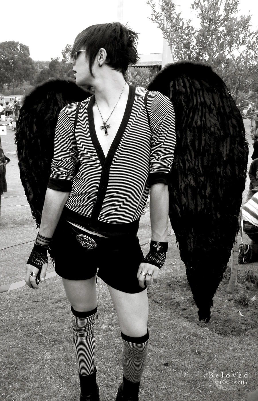Gay Emo Angel by CarissaGagashi