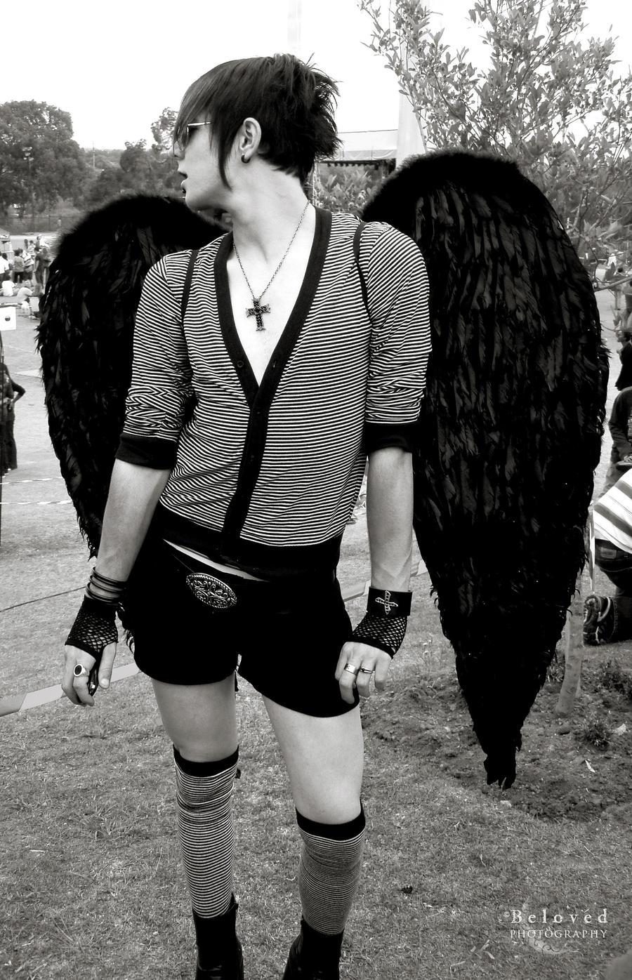 Gay Emo Angel by CarissaGagashi