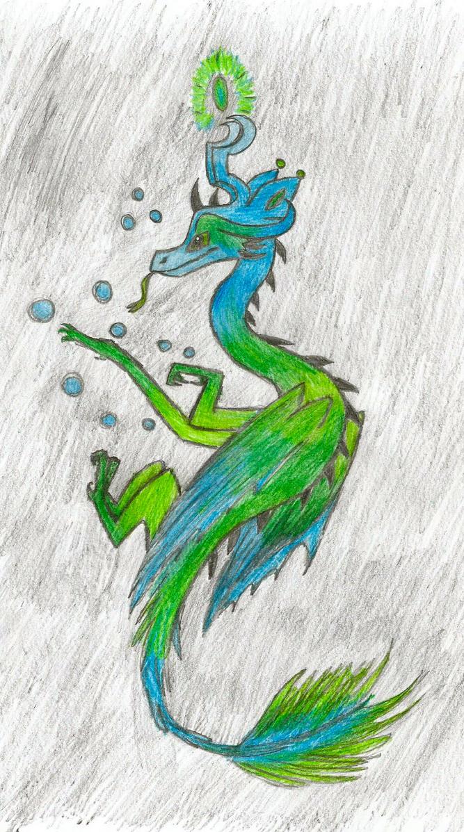 Deep Sea Dragon 2!!! by kangaroozieloo