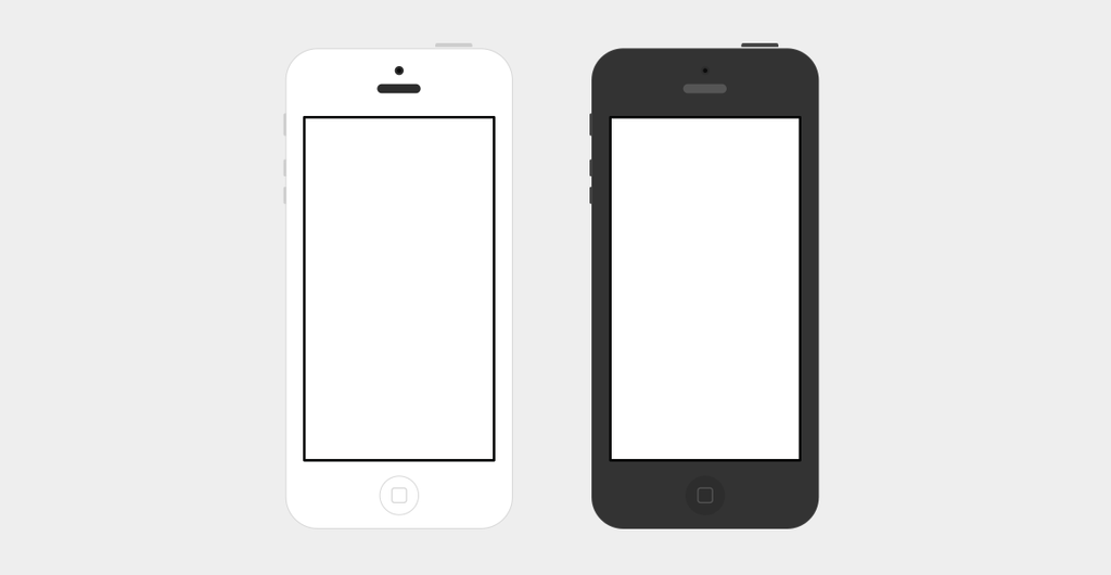 iPhone 5 Flat PSD by flekiii on DeviantArt