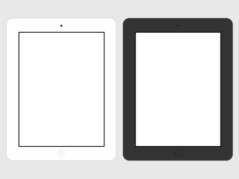 iPad 3 Flat