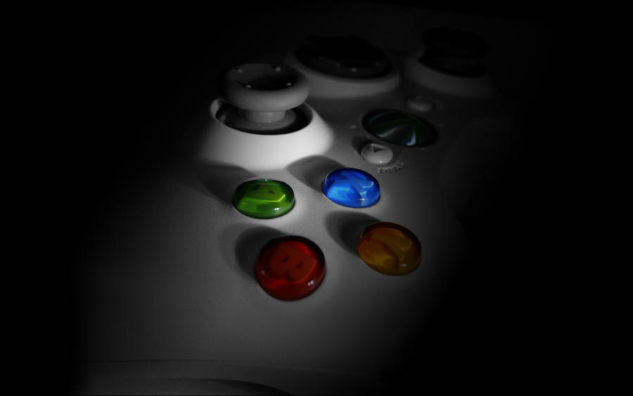 Xbox 360 Controller Wallpaper by pi1k