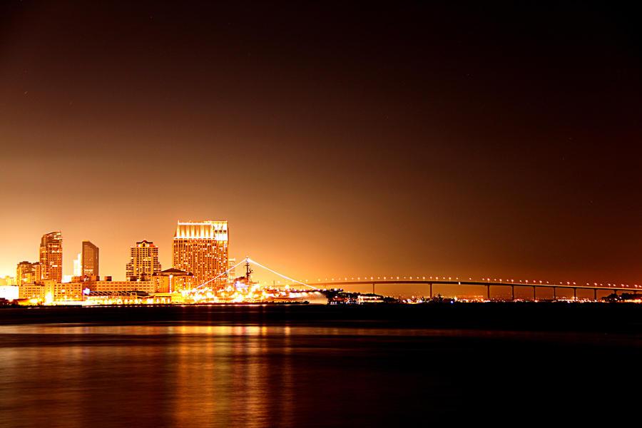 San Diego 01 Golden Skyline
