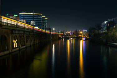 Jannowitzbridge at Night
