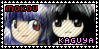 Mokou x Kaguya stamp by Akanes-Stamps