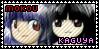 Mokou x Kaguya stamp by Akanes-Stamps