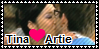 Tina x Artie stamp by Akanes-Stamps