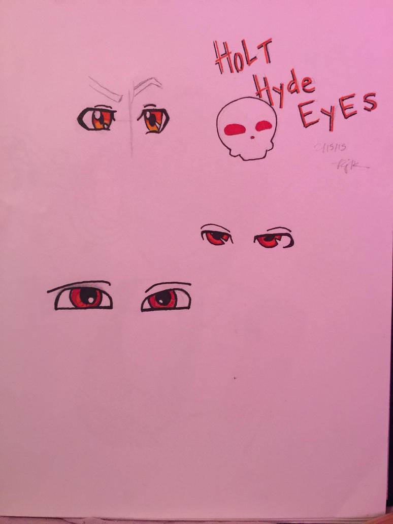 Holt Hyde's eye's by GrimmjowRockstar