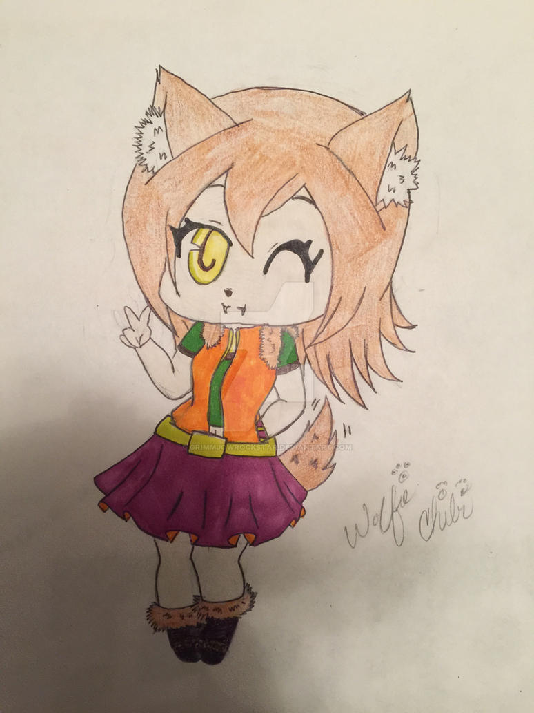 OC Wolfie the Halloween Mamodo Princess by GrimmjowRockstar