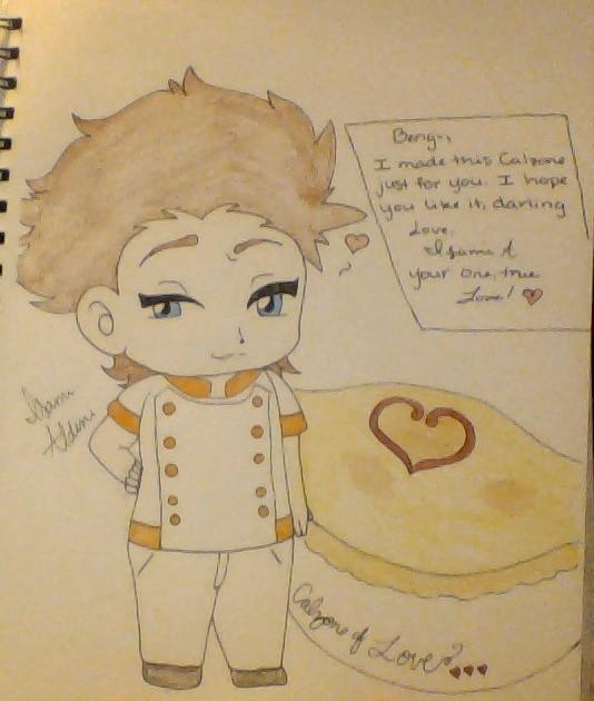 Isami's Calzone of Love by GrimmjowRockstar