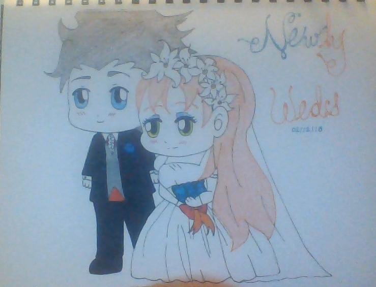 The Newly Weds! by GrimmjowRockstar