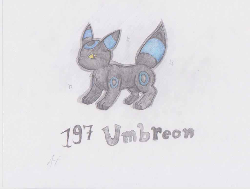 Shiny Umbreon by blastoise96