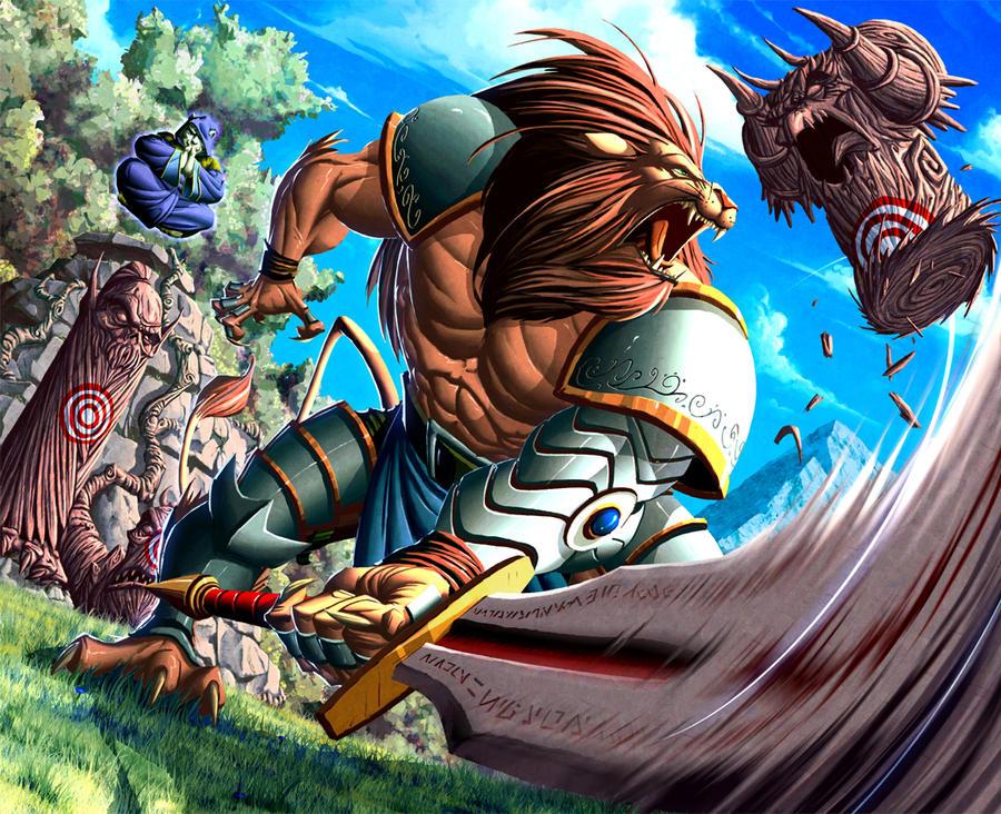 Chaotic Tangath By Warlockss On Deviantart