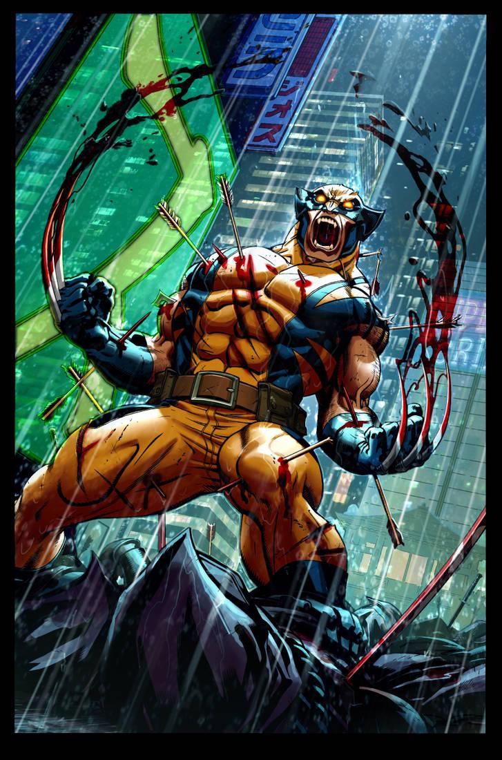 Wolverine_Ed Mcguiness by warlockss