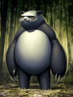 Panda by warlockss