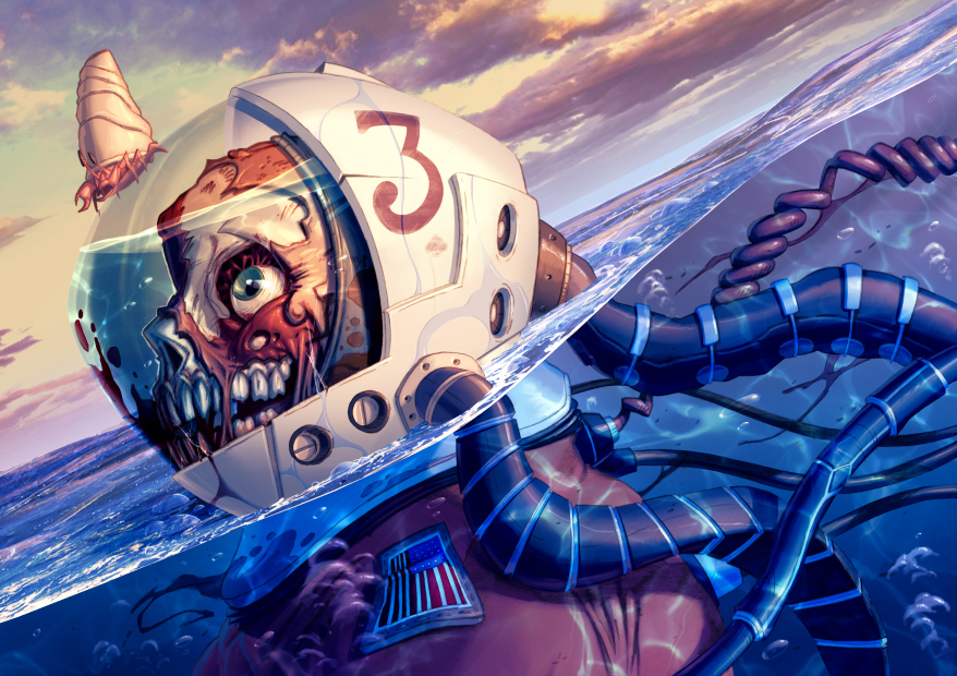 Diver by warlockss