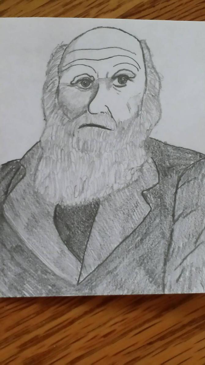 Charles Darwin by heatherdvdprincess