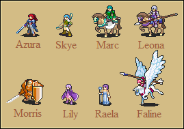 Dawn of Darkness Sprites 1 by Great-Aether