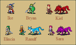 Dawn of Darkness Sprites 2 by Great-Aether