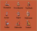 Generic Fire Emblem Sprites 1